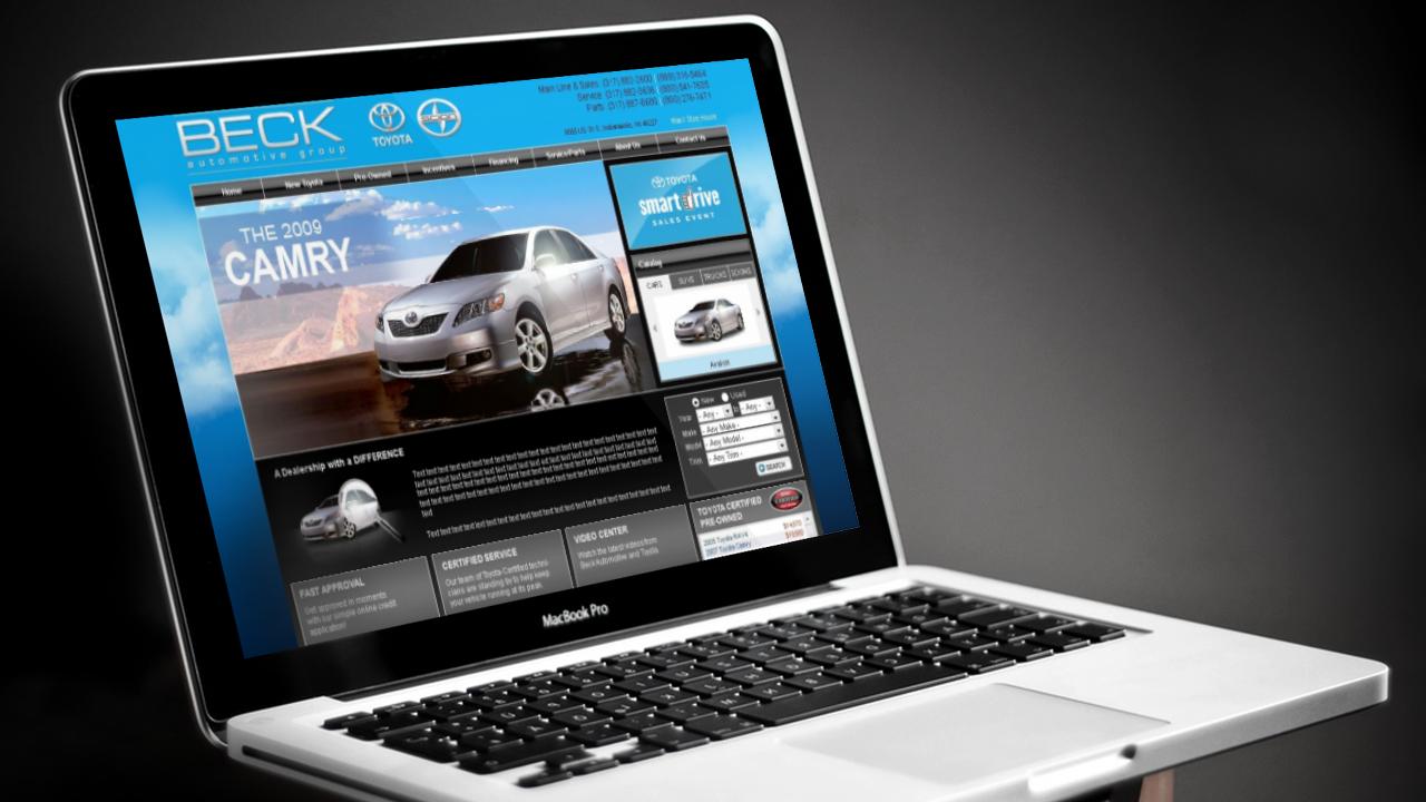 Корпоративный сайт автосалона